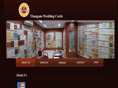 Thangam Wedding Cards